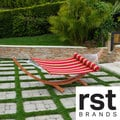 RST Cantina Striped Polyspun Hammock Bed with Bolster Pillow