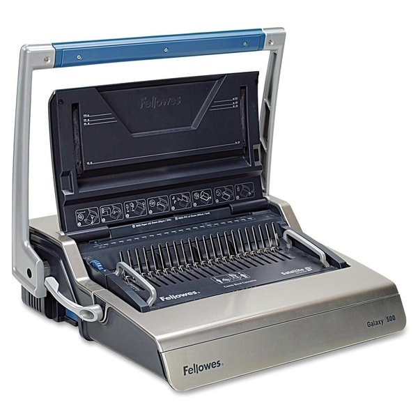 Fellowes Galaxy 500-sheet 2-inch Comb Manual Binding Machine