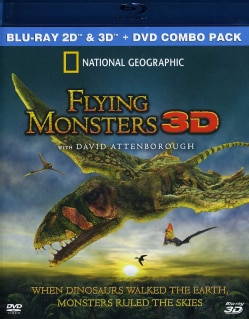 Flying Monsters 3D (Blu-ray Disc)