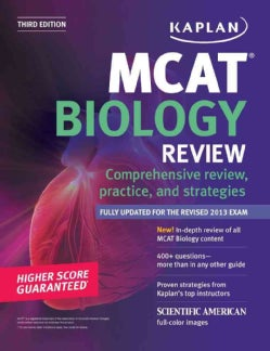 Kaplan MCAT Biology Review (Paperback)