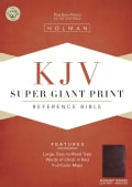 King James Version Super Giant Print Reference Bible: Indexed (Paperback)