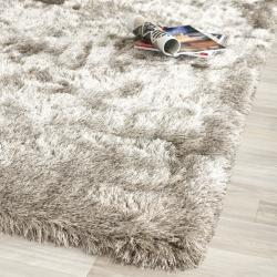 Silken Sable Brown Shag Rug (2'3 x 8')