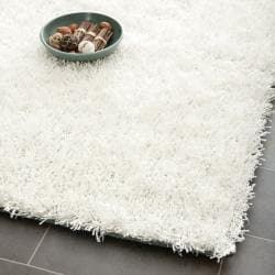 Medley Textured Shag Off-White Rug (3' x 5')