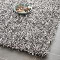 Safavieh Medley Textured Shag Platinum Rug (2'3 x 8')