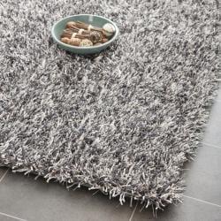 Safavieh Medley Textured Shag Platinum Rug (3' x 5')