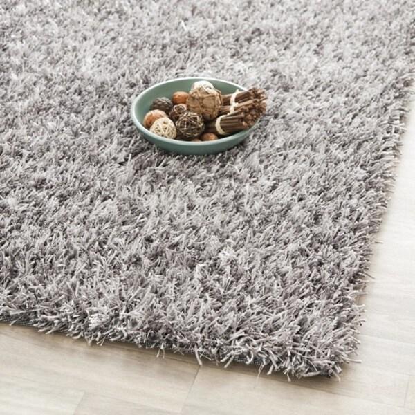 Safavieh Medley Textured Shag Grey Rug (2'3 x 8')