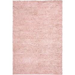 Safavieh Hand-woven Metro Pink Shag Rug (4' x 6')