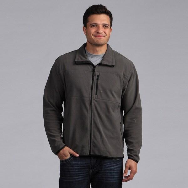 Farmall IH Men's Charcoal Arctic Fleece Zip Jacket
