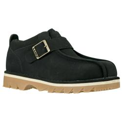 Lugz Men's 'Pathway' Black Durabrush Buckled Slip-on Boots