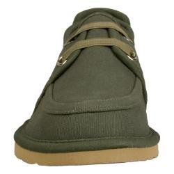 Lugz Men's 'Husk' Green Canvas Slip-on Shoes