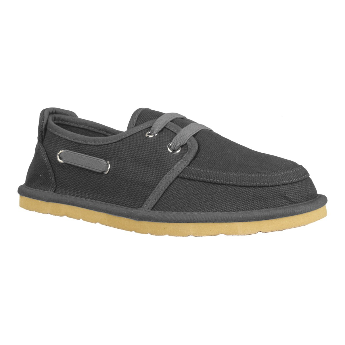 Lugz Men's 'Husk' Charcoal Canvas Slip-on Shoes
