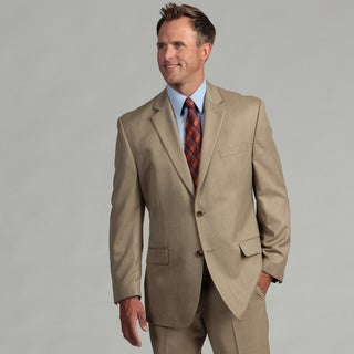 MICHAEL Michael Kors Men's Tan Two-button Sport Coat FINAL SALE