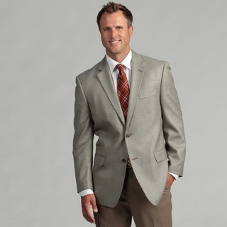 MICHAEL Michael Kors Men's Two-Button Silk/Wool Blend Sport Coat