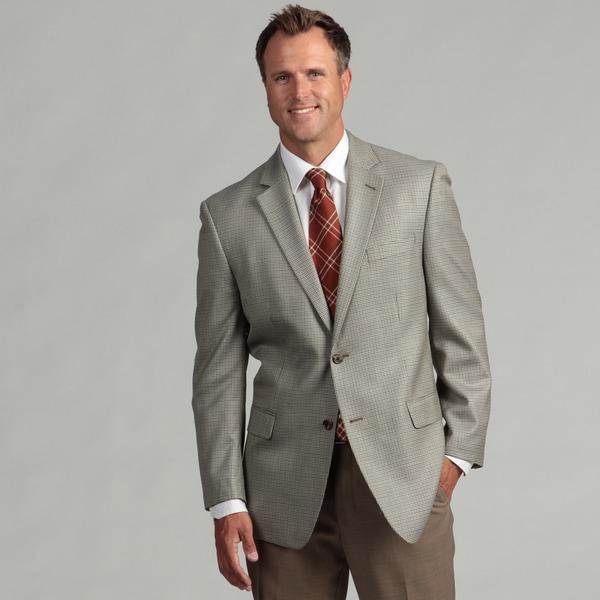 MICHAEL Michael Kors Men's Two-Button Silk/Wool Blend Sport Coat