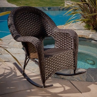 Christopher Knight Home Woodlands Wicker Rocker