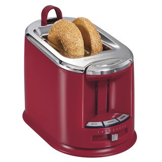 Hamilton Beach 22324 Red 2-slice Toaster