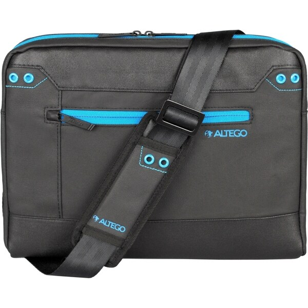 "Altego Coated Canvas Cyan 13"" Laptop Slipcase"
