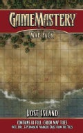 Gamemastery Map Pack Lost Island (Cards)