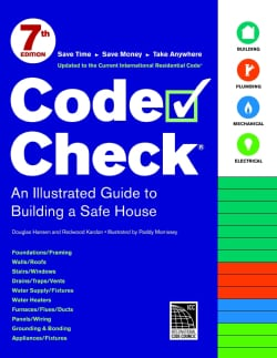 Code Check: An Illustrated Guide to Building a Safe House (Spiral bound)