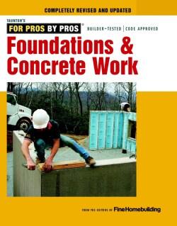 Foundations & Concrete Work (Paperback)