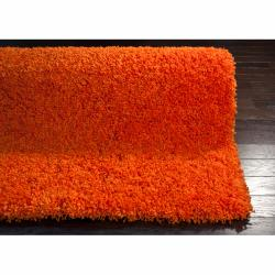 nuLOOM Ultra Orange Shag Rug (8' x 10')