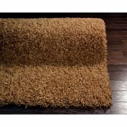 nuLOOM Ultra Brown Shag Rug (5' x 8')