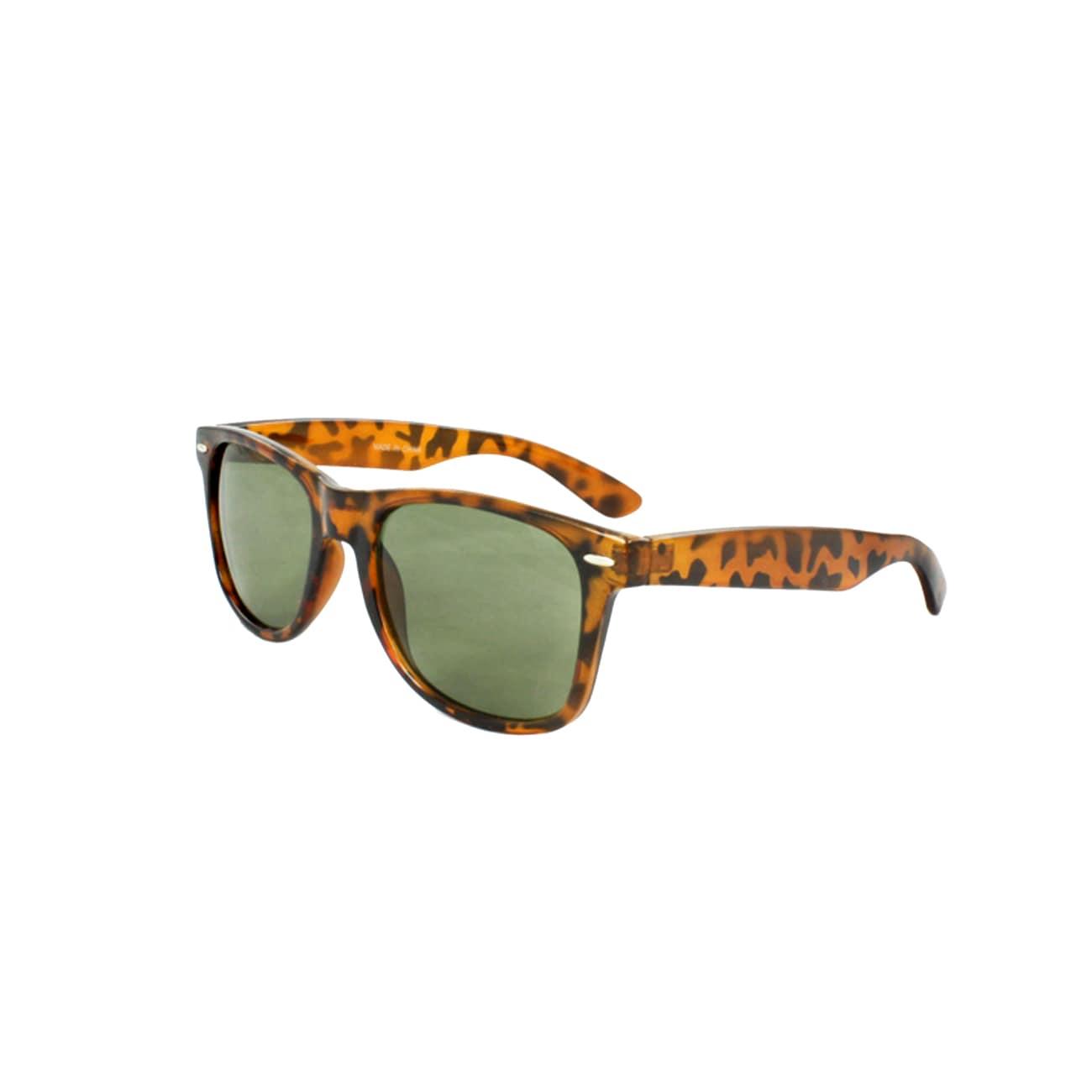 Unisex Brown Tortoise Sunglasses