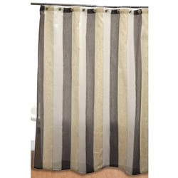 Rayan Beige Shower Curtain