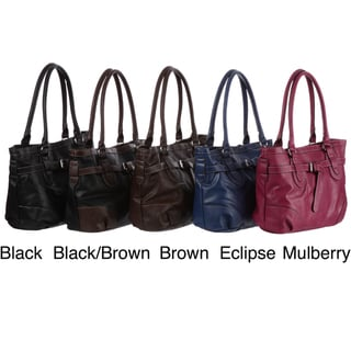 Mondani Lawrence East/ West Belted Tote Bag