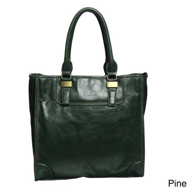 Mondani Greene Glazed Tote Bag