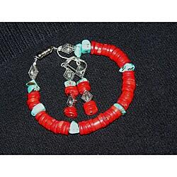 Susen Foster Sedona Dreams Bracelet & Earrings Set