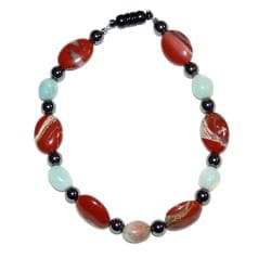 Susen Foster 'Real Men Wear Jasper' Gemstone Bracelet