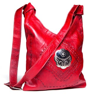 Dark Red Marrakech Bag (Morocco)