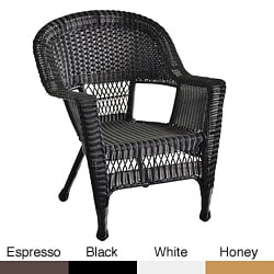 Wicker Patio Chairs (Set of 2)