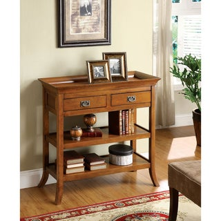Kams Bottom Trays 2-drawer End Table
