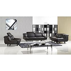 Furniture of America Kalisz Adjustable Backrests 3-peice Sofa Set