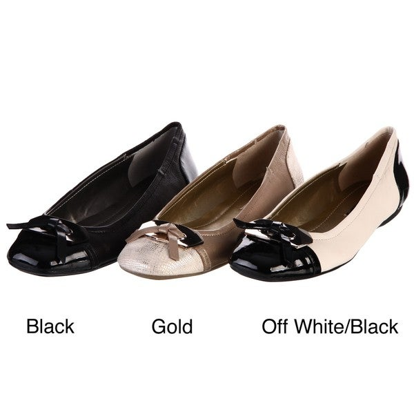 Bandolino Women's 'Woundup' Cap-toe Flats