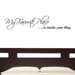 'My Favorite Place' Vinyl Wall Graphic Decal