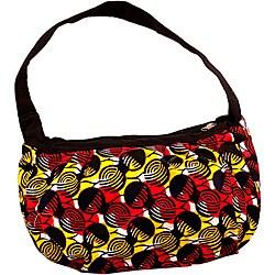 Wax Print Truffles Hobo Bag (Rwanda)