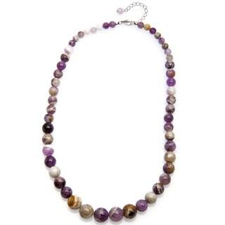 Pearlz Ocean Natural Amethyst Journey Necklace