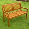 International Caravan Royal Tahiti 'Bar Harbor' 2-Seater Park Bench