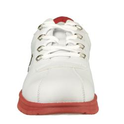 Lugz Men's 'Zrocs DX' Durabrush White/ Mars Red Sneakers
