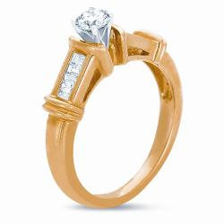 14k Yellow Gold 1/2ct TDW Diamond Ring (J-K, SI1-SI2)