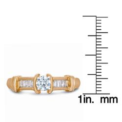 14k Yellow Gold 1/2ct TDW Diamond Ring (J-K, SI1-SI2)