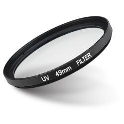 INSTEN 49-mm Black UV Lens Filter