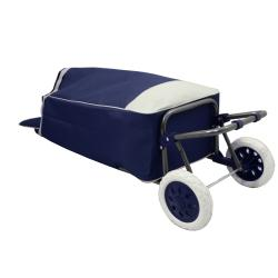 Easy Rolling Lightweight Collapsible Shopping Cart