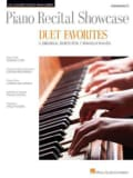Piano Recital Showcase-Duet Favorites-5 Original Duets for 1 Piano/4 Hands Intermediate (Paperback)