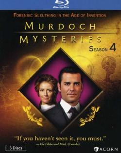 Murdoch Mysteries Season 4 (Blu-ray Disc)