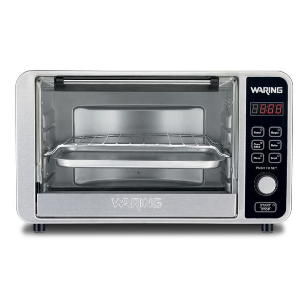 Waring TCO650 1500-Watt Toaster Oven/Broiler with Convection ...