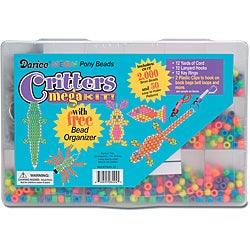 Critters Mega Neon Bead and Organizer Kit